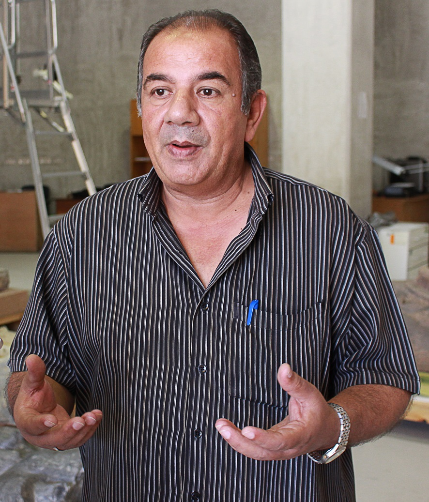 Osama Abou El-Khier - executive manager of the Grand Egyptian Museum Restoration Department (DNE Photo)