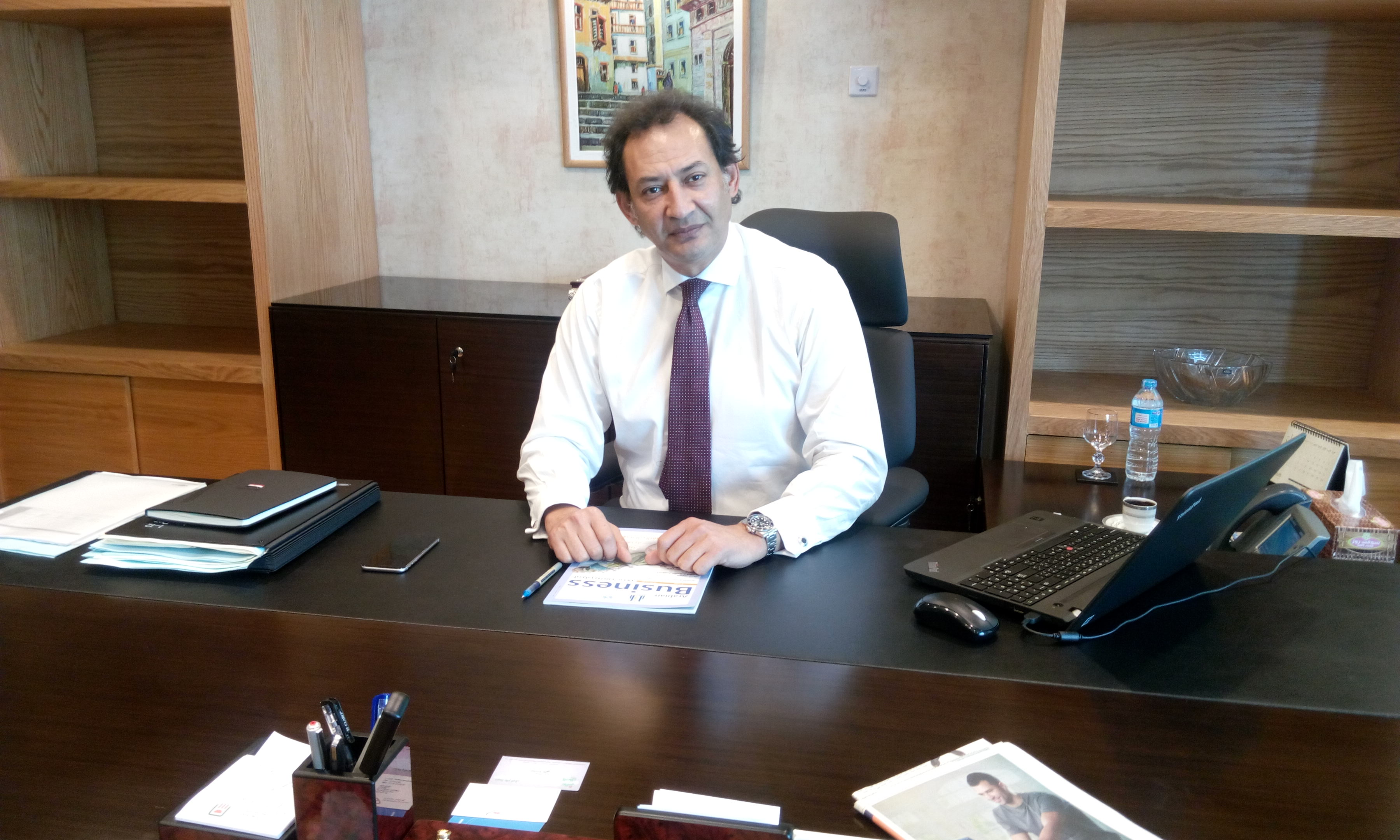 Hazem Hegazy, NBE's CEO of retail banking and SMEs