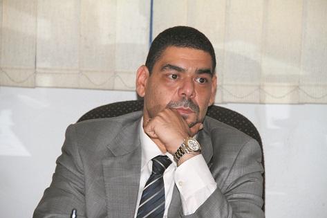 Hossam Farid, President of the Association of Young Businessmen. (DNE Photo)