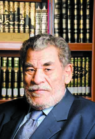 Hussein Hamed Hissan, a professor of sharia law at Cairo University and one of the most prominent scholars in the field (Photo from Al-Borsa News)