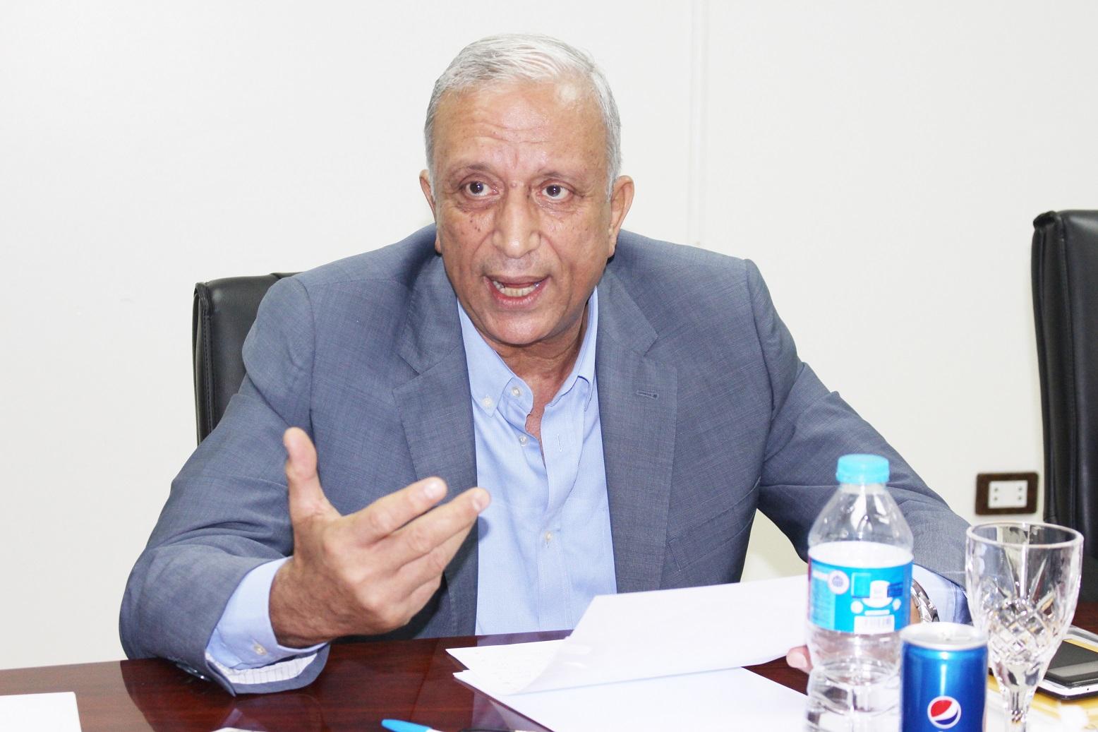 the Executive Manager of the Egyptian Automobile Manufacturers Association (EAMA) Husein Mostafa (DNE Photo)