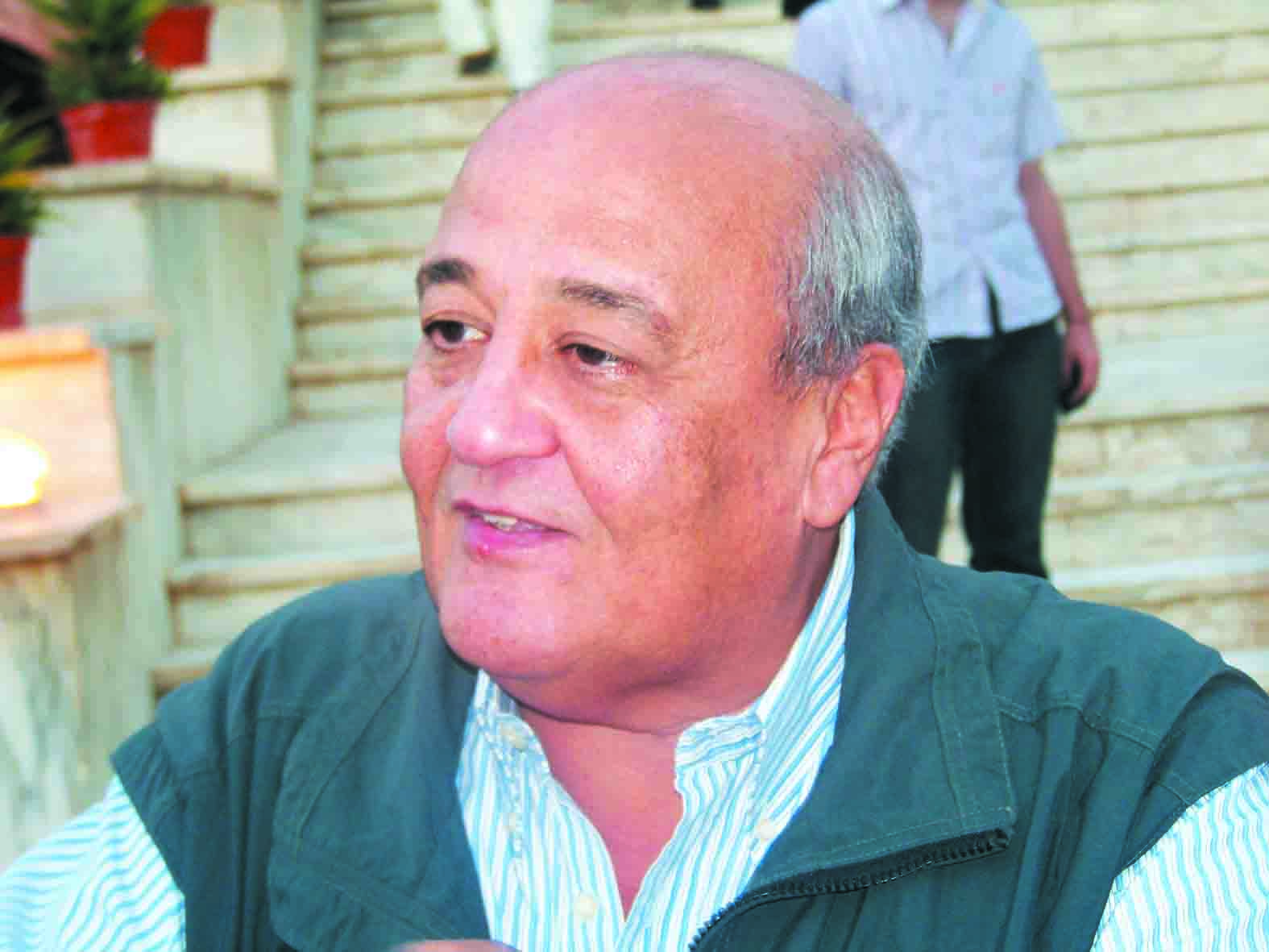 Hamada el-Qaliouby, President of the Mahalla Investors Association (AlBorsa Photo)