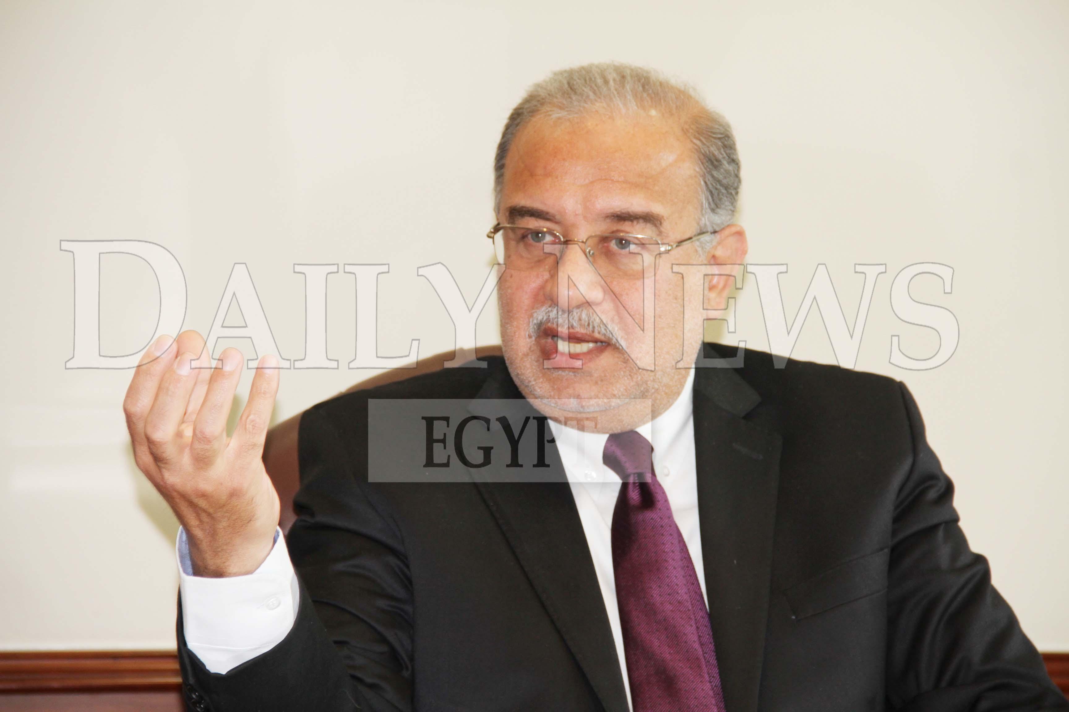 Petroleum Minister Sherif Ismail (DNE Photo)