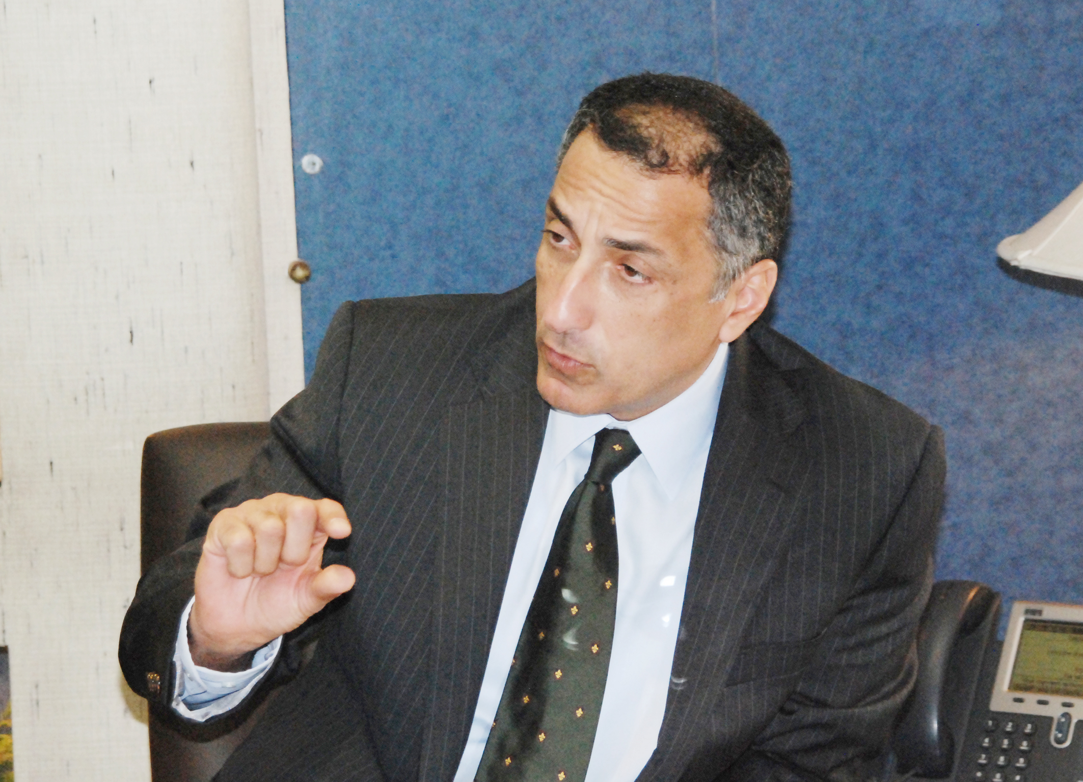 Governor of the Central Bank of Egypt (CBE), Tarek Amer