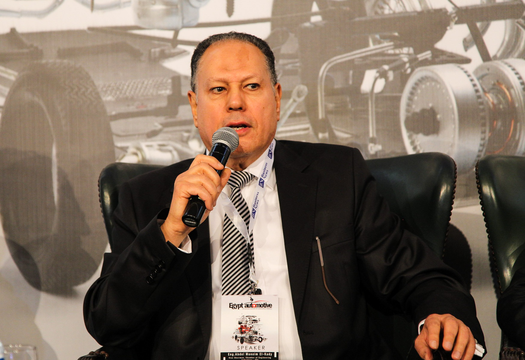 Abdel Moneim El-Kady, deputy chairperson of the Chamber of Engineering Industries Federation (DNE Photo)