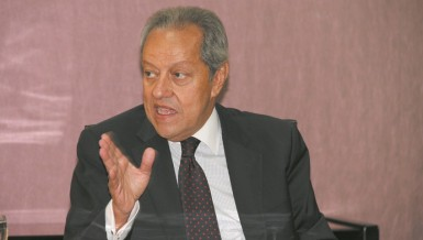 Minister of Trade and Industry Mounir Fakhry Abdel Nour