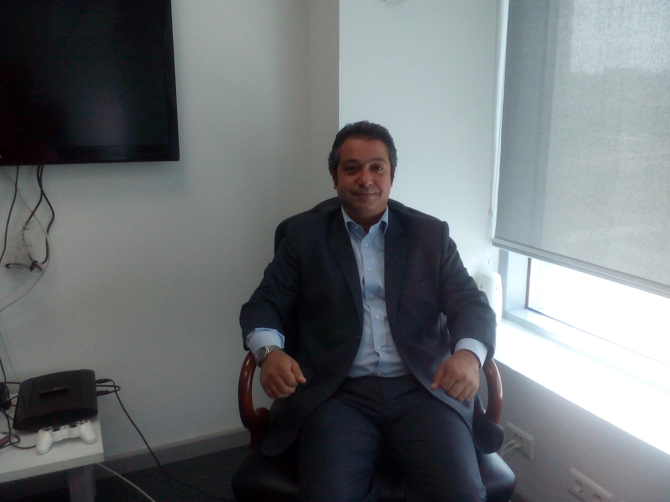 Hashem Monsi, CEO of Dell. (DNE Photo)