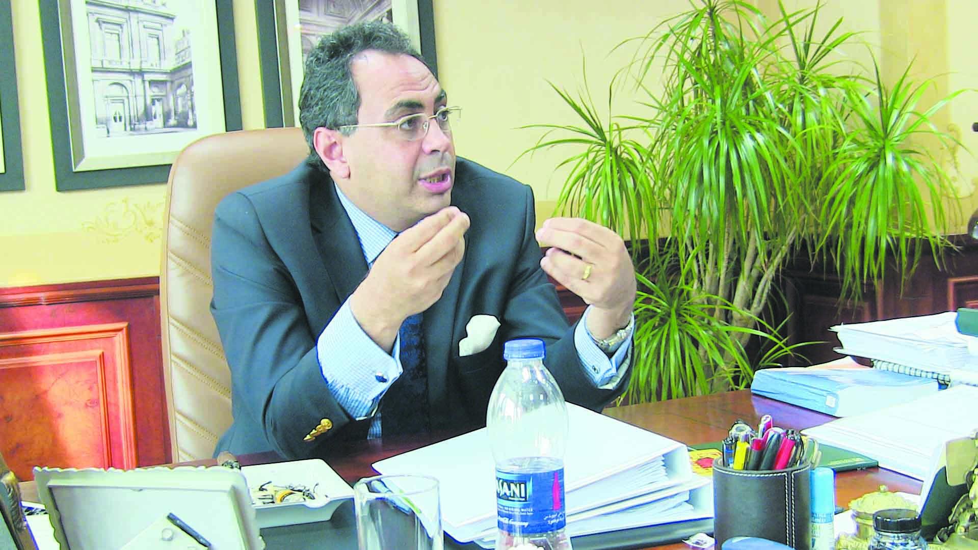 Dr. Hani Sarie-Eldin, managing partner of Sarie-Eldin Legal Advisors and former head of the Capital Market Authority (CMA) (Photo from Al-Borsa News)