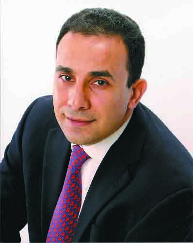 Walid Hejazi, the founding partner of Hejazi & Associates, in cooperation with Crowell & Moring (Photo from Al-borsa News)