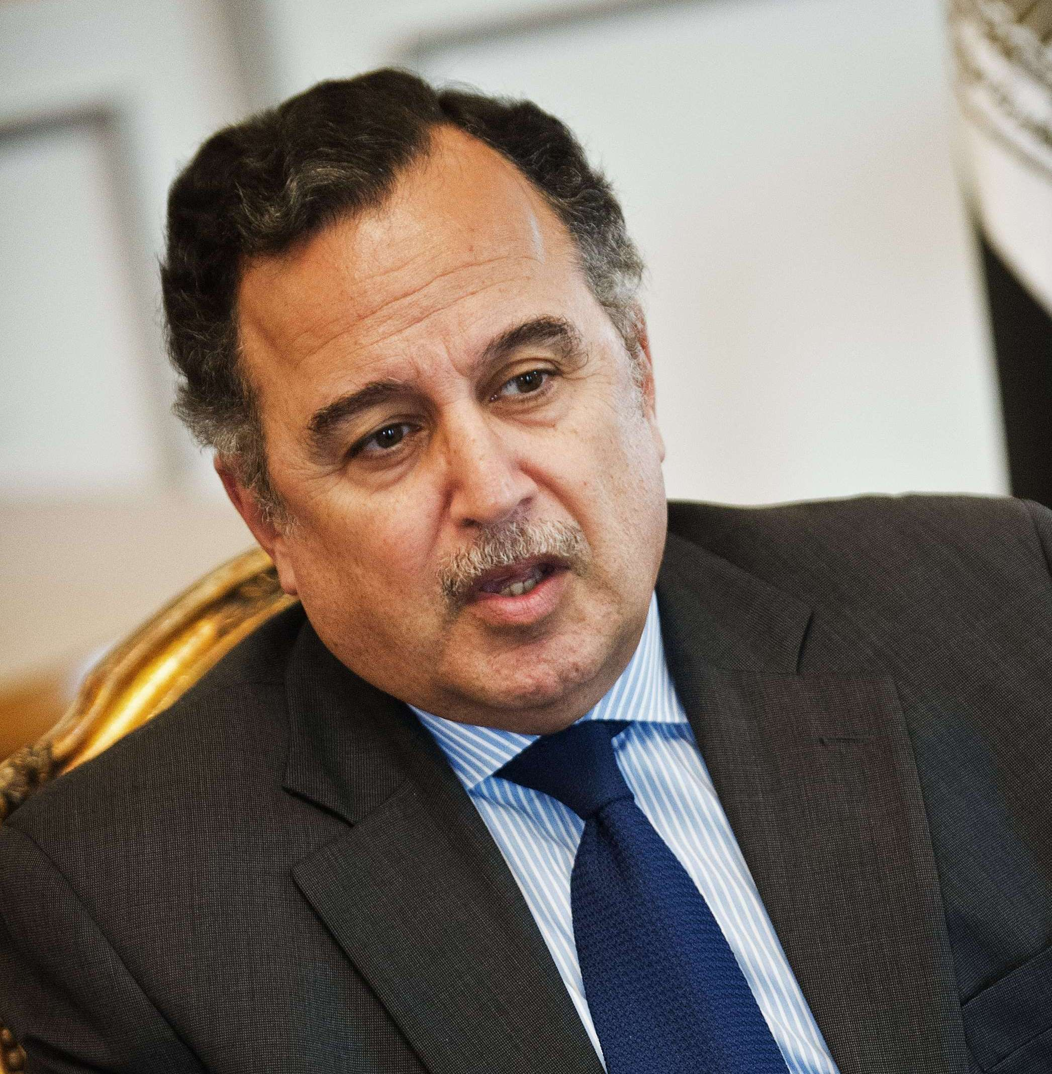 Minister of Foreign Affairs Nabil Fahmy Fahmy  (AFP Photo)