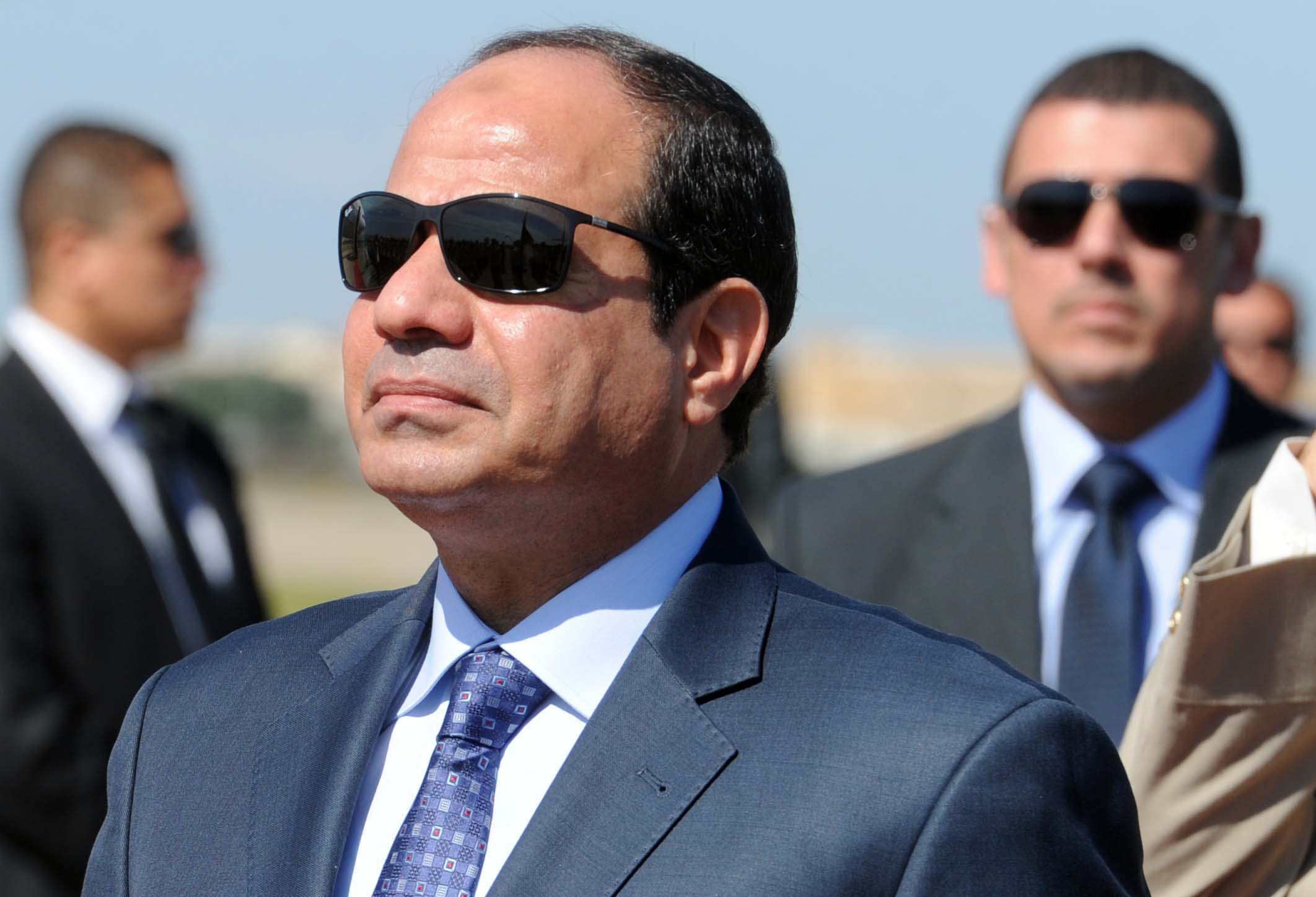 President Abdel Fattah Al-Sisi stressed in a statement Saturday the importance of Morocco's partnership with and support of Egypt during a meeting with the North African country's foreign minister. (AFP File Photo)