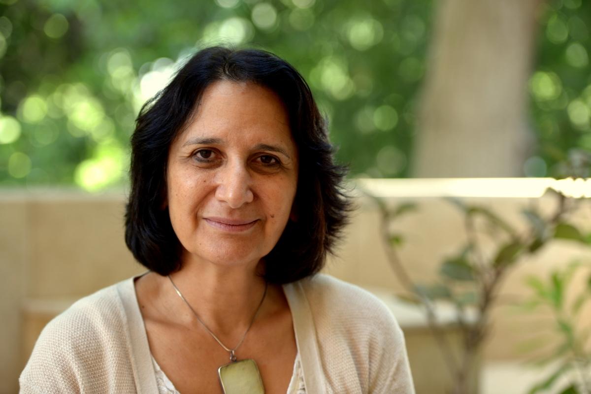 Dr. Hoda El-Sadda (Photo by Aaron T. Rose)