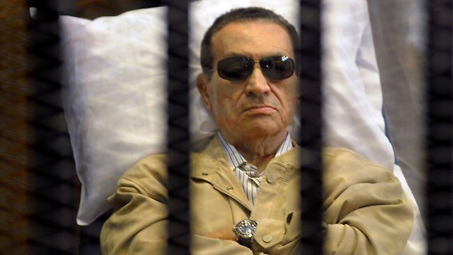 Ousted president Hosni Mubarak (AFP File Photo)