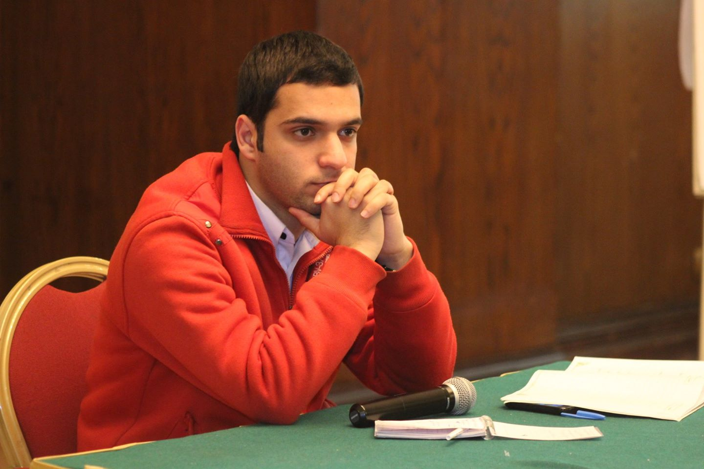 Egypt's Student Union President Mohamed Badran (Photo Courtesy of Mohamed Badran )
