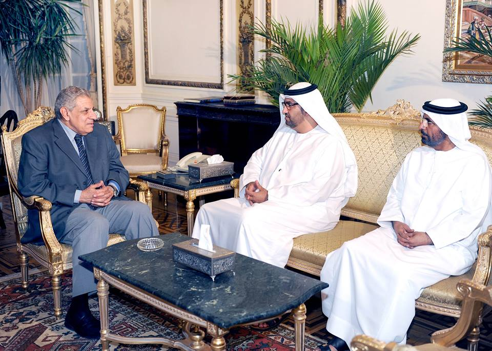 Prime Minister Mehleb meets UAE Minister of State