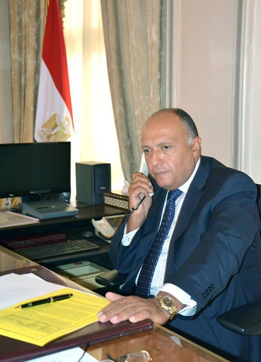 Minister of Foreign Affairs Sameh Shoukry (Ministry handout)