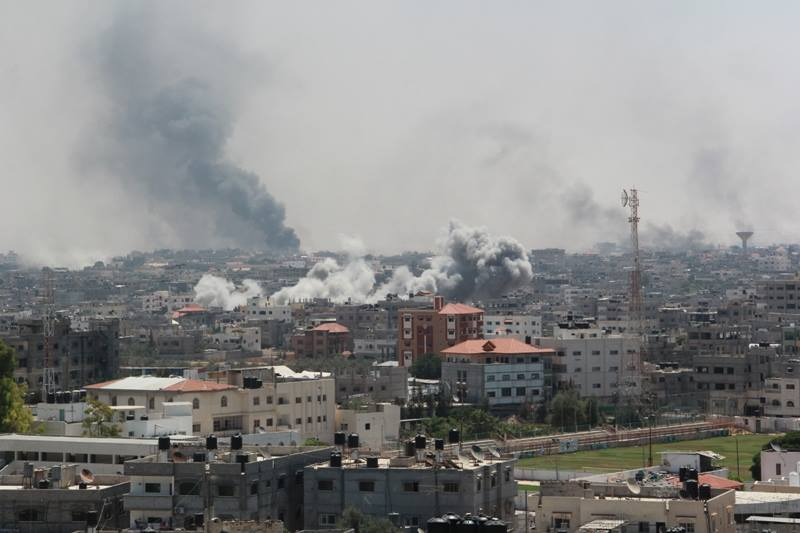 Fighting resumed in the Gaza Strip after a UN and US sponsored humanitarian ceasefire failed to hold (Palestinian Ministry of Interior handout)