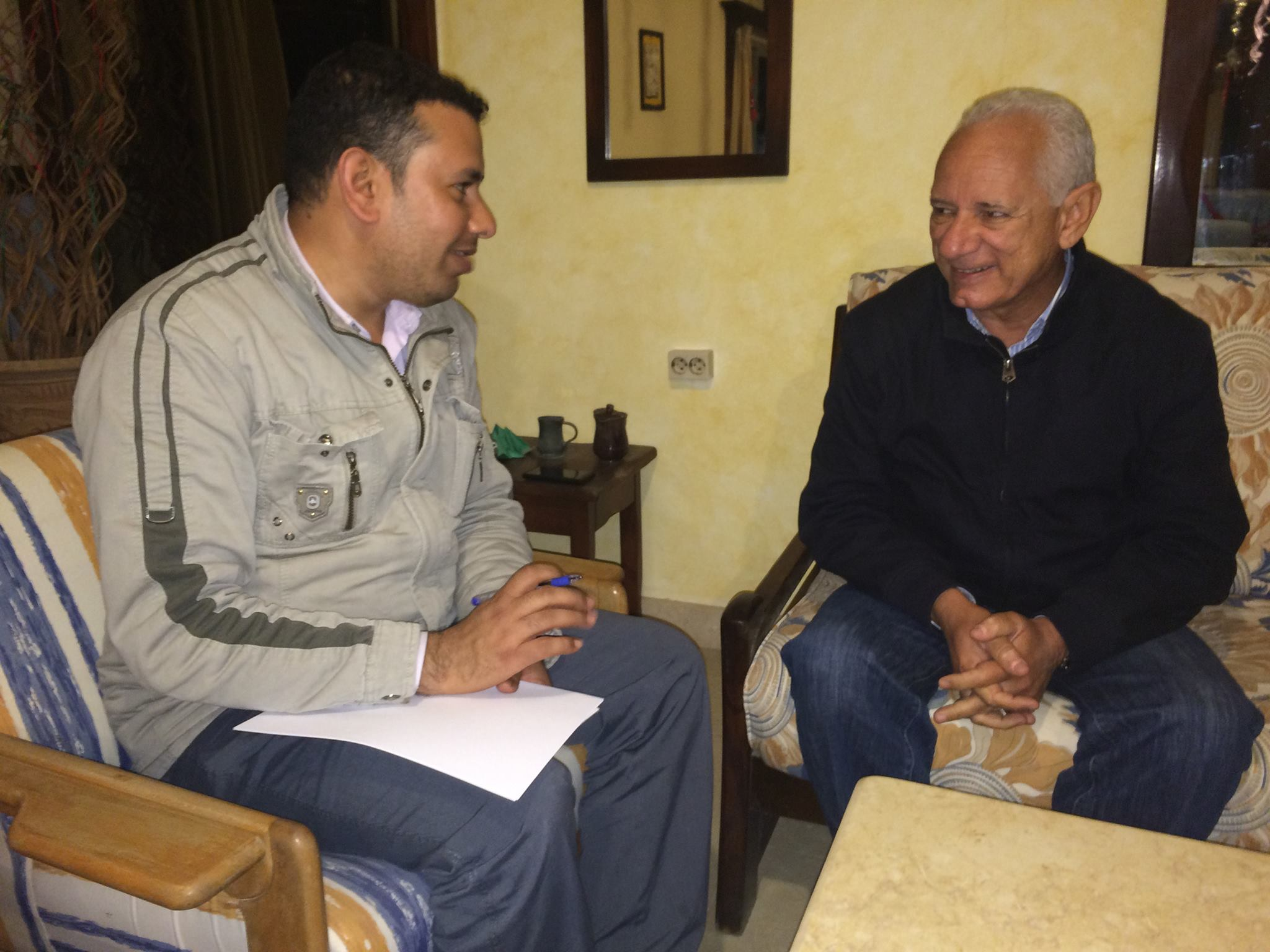 Daily News Egypt sat down with Abanoub Travel Chairman Rabie Tawfik (Photo by Omar  Korashy)