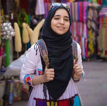 Esraa El-Taweel, the young photojournalist who disappeared earlier in June, will face prosecution Monday, on charges that her defence team are still unaware of. (Photo Public Domain)