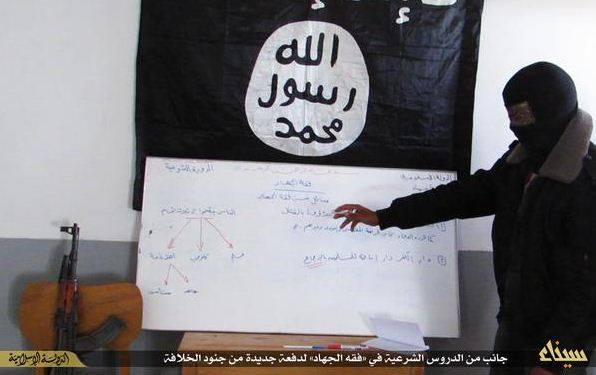 Training session allegedly given to North Sinai residents by extremists. (Photo Public Domain)