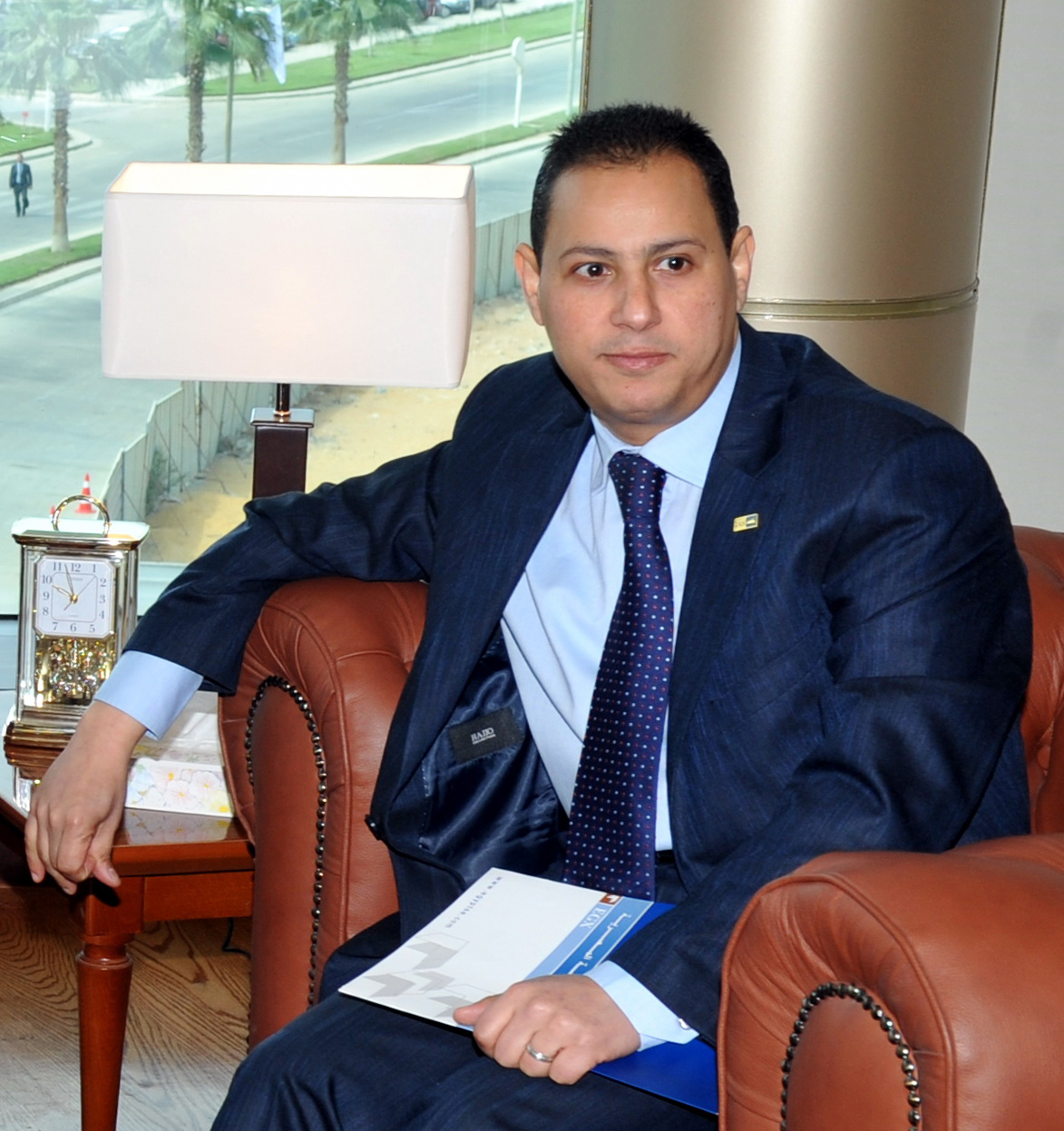 Daily News Egypt sat down with the Egyptian Exchange's Chairman Mohamed Omran to discuss the future of IPOs, the sectors that are expected to have a strong showing, and why he believes that the newly introduced regulations have influenced the capital market. (DNE Photo)