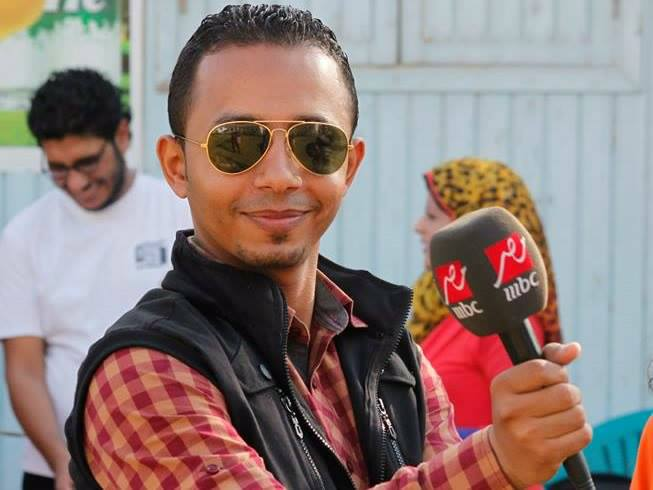 MBC Egypt correspondent Aslam Fathy  (Photo from Facebook profile)