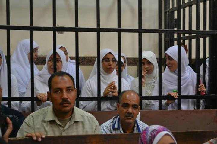 14 female demonstrators, six of the minors, were sentenced to 11 years in prison  (Photo by Mohamed Omar/DNE)