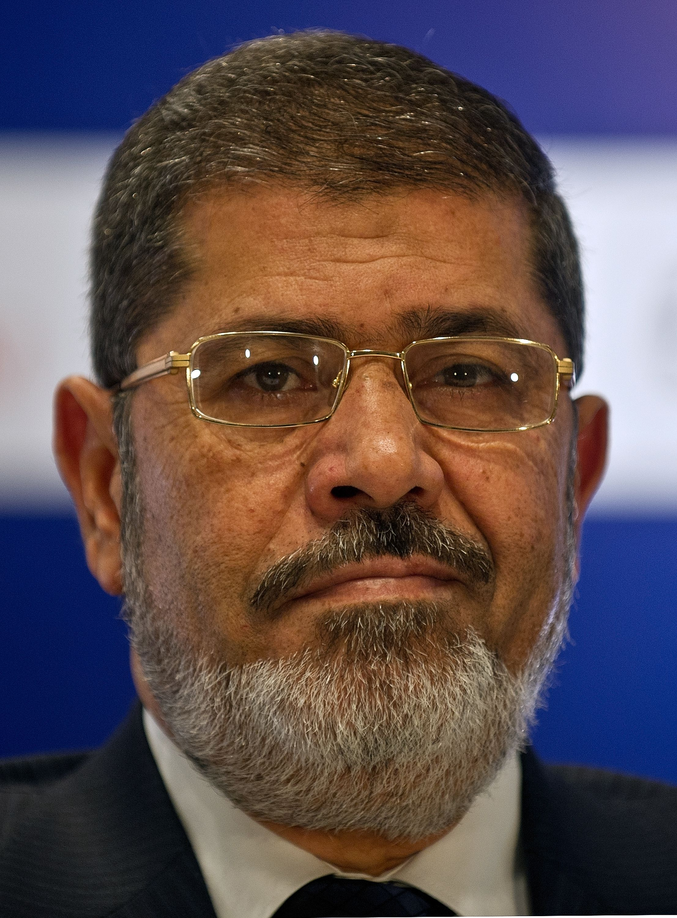 Former president Mohamed Morsi (AFP File PHOTO/ MANAN VATSYAYANA)