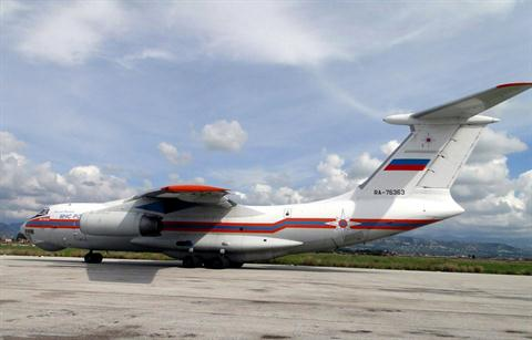 A Russian plane landed in the Syrian port city of Latakia on Sunday, the government said, as it seeks to evacuate its citizens from the escalating conflict. (AFP File Photo)