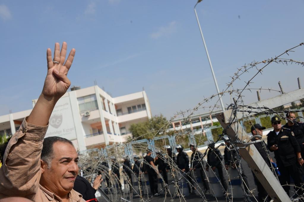 16-- Morsi trial demonstration Aaron T. Rose