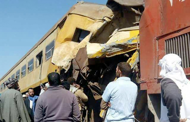 At least 15 dead, 40 injured in train accident near Beheira