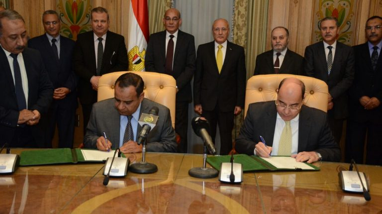 The National Organisation for Military Production and the Agricultural Engineering Research Institute signed an agreement