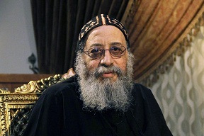 "Pope Tawadros II called on Egyptians to ""preserve the lives of fellow Egyptians"" on Monday"