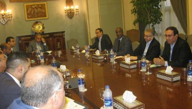 conference organised by the American Chamber of Commerce in Egypt