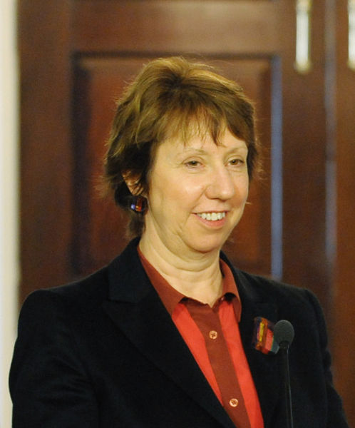 High Representative of the EU's Union for Foreign Affairs Security Policy and Vice President of the Commission Catherine Ashton said Egypt's NGO draft law is too restrictive  (Photo Public Domain)