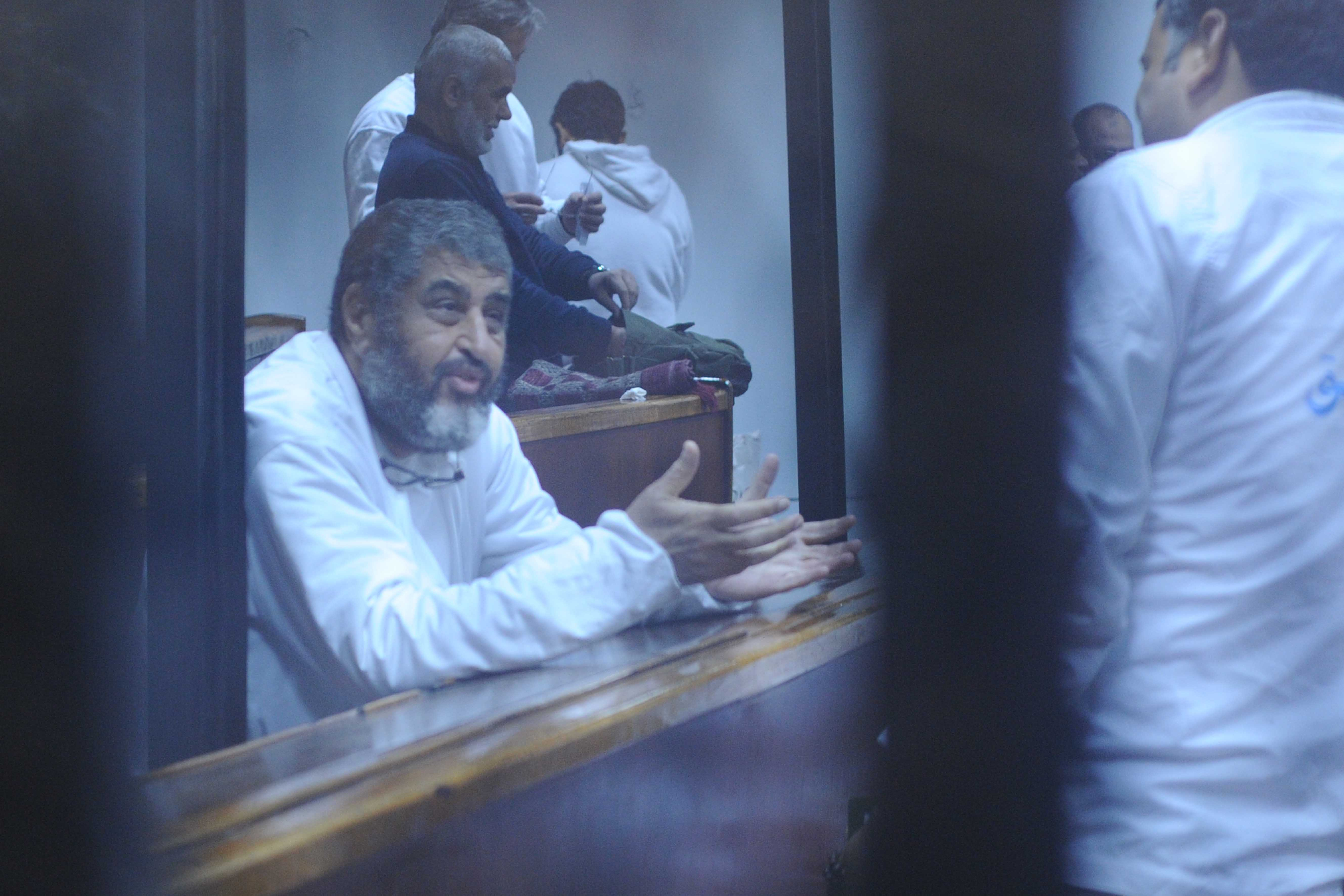 Khairat Saad el-Shater is among the Muslim Brotherhood defendants in the espionage case (Photo by Ahmed Al-Malky)
