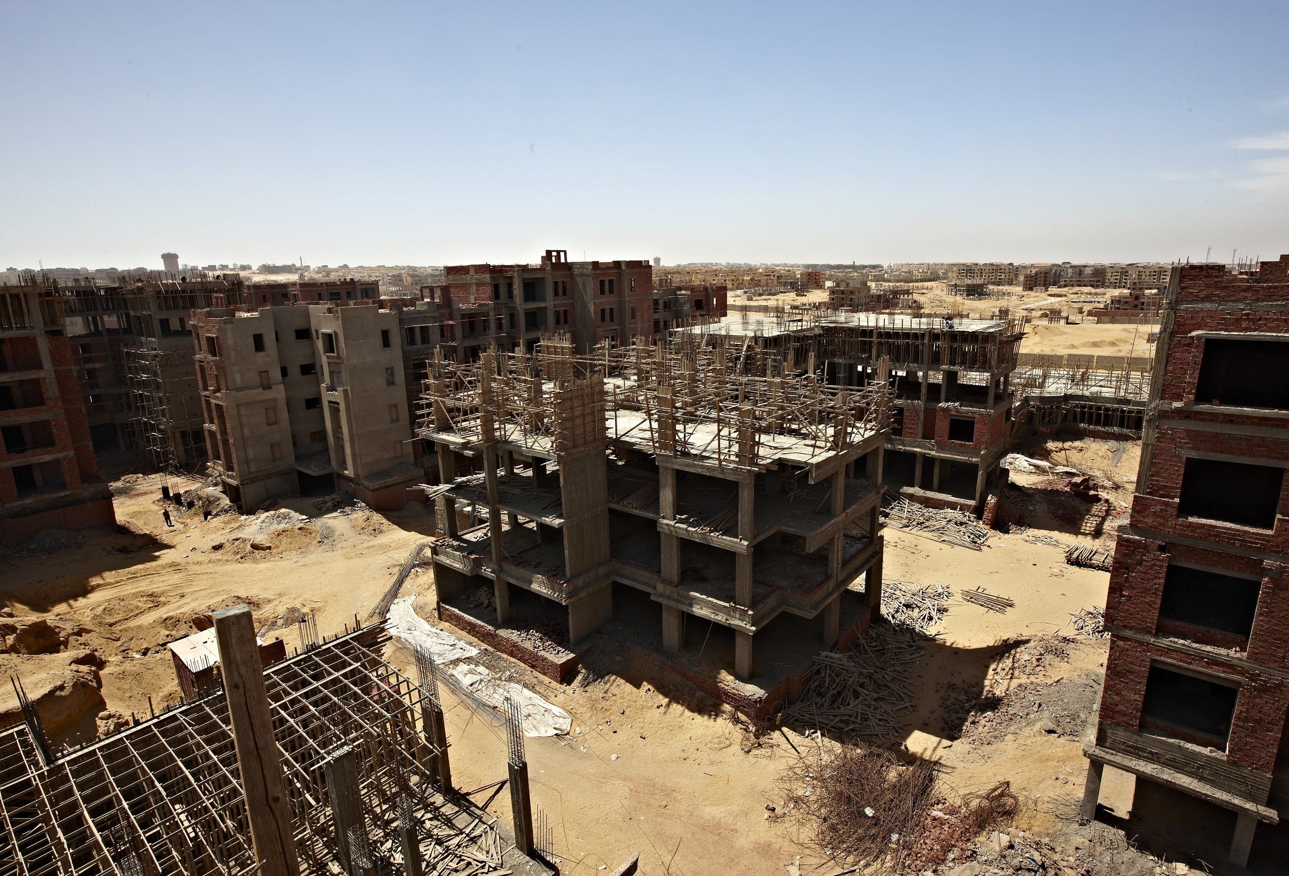 Egyptian construction companies are increasingly aware of their responsibility to preserve the environment, according to recent statistics. (DNE File Photo)