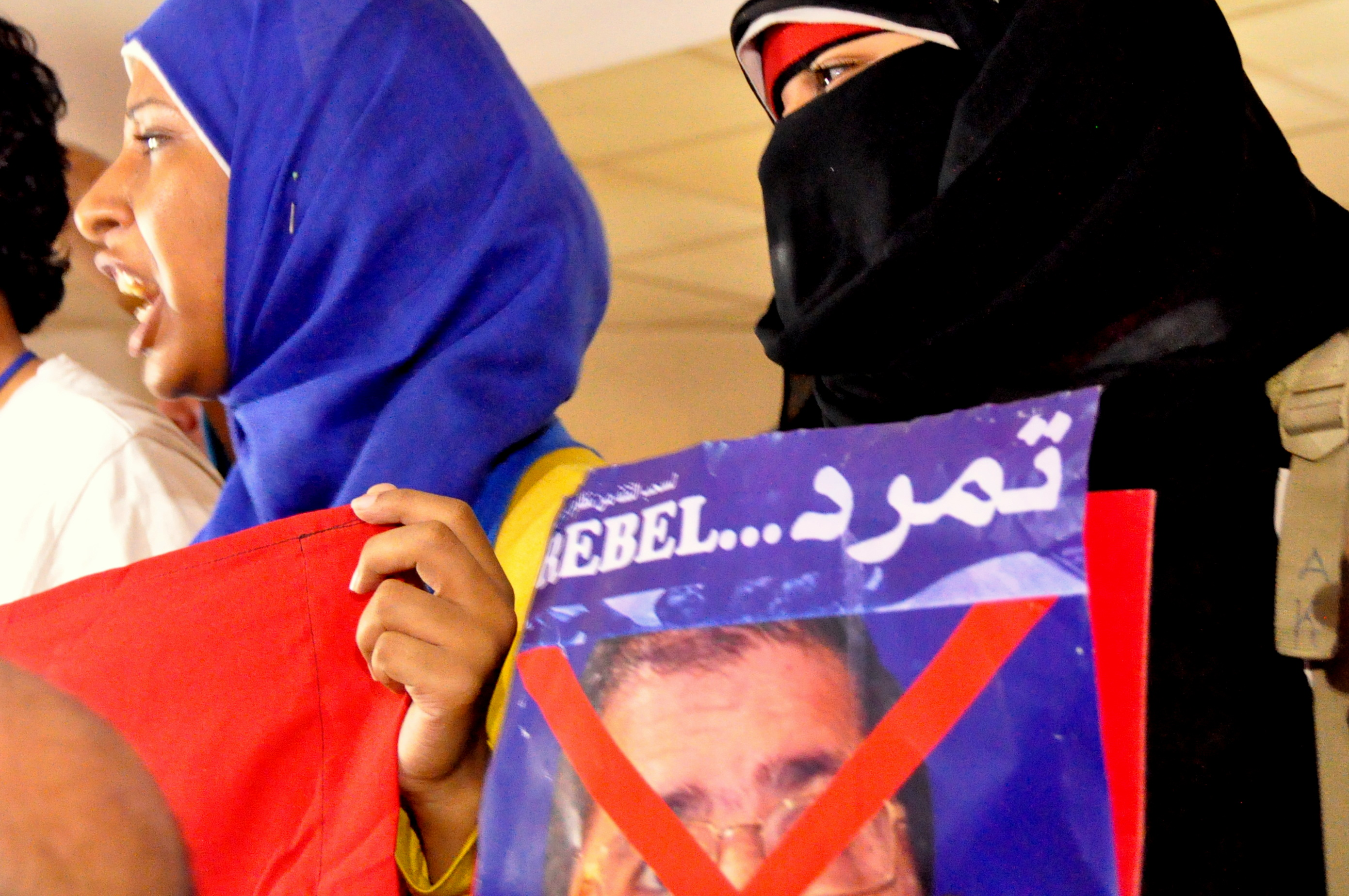 The Tamarod campaign called on presidential guards to arrest the president on charges of inciting a civil war, in a press conference on Wednesday, demanding as well a trial of the Muslim Brotherhood. (Photo By Araon T.Rose)