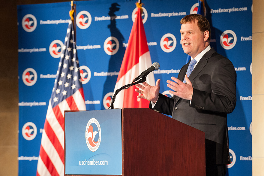 Canadian Minister of Foreign Affairs John Baird  (Canadian government handout)