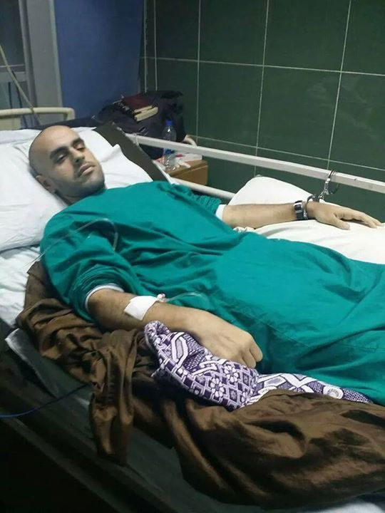 Mohamed Soltan, the Egyptian-American son of Muslim Brotherhood leader Salah Soltan, fell into a sugar coma on Sunday after 281 days on hunger strike. (Photo from Freedom for the Brave)