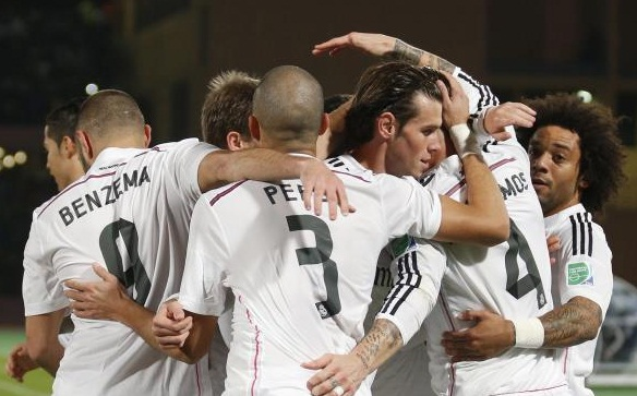 Real Madrid qualified for the FIFA Club World Cup final round, which began on 10 December in Morocco, after winning against Mexican team Cruz Azul.