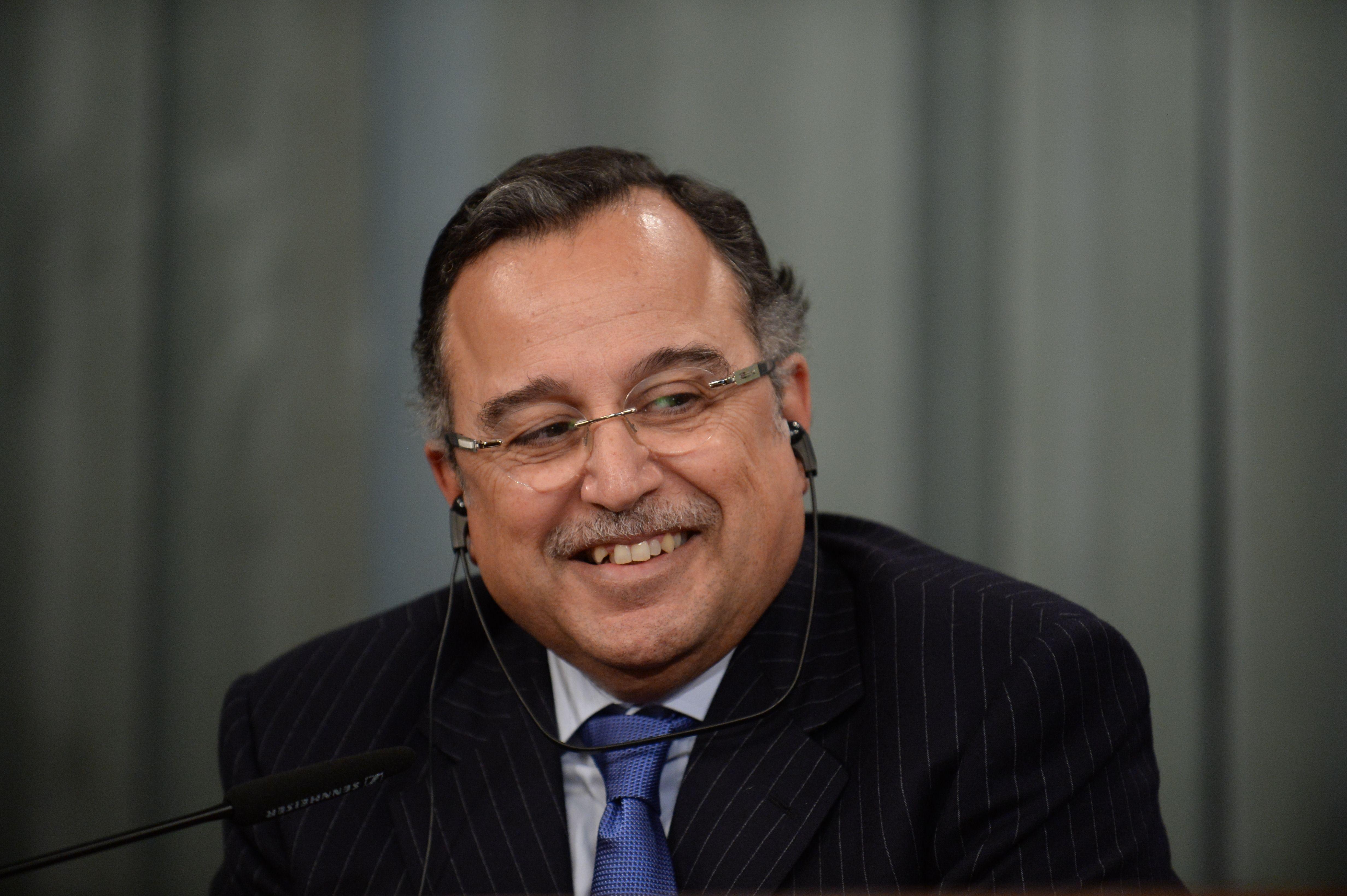 Egyptian Foreign Minister Nabil Fahmy (AFP PPhoto)