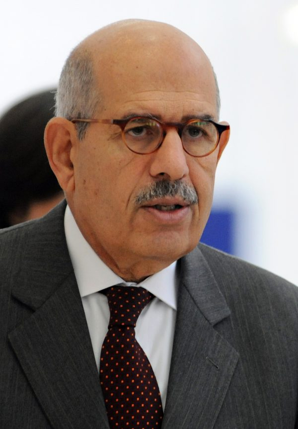 The vice president to the interim president on foreign affairs, Mohamed ElBaradei, has authorised renowned lawyer Mona Zulfikar to present amendments to the constitutional declaration together with several political groups, Zulfikar has told the Daily News Egypt. (AFP File Photo)