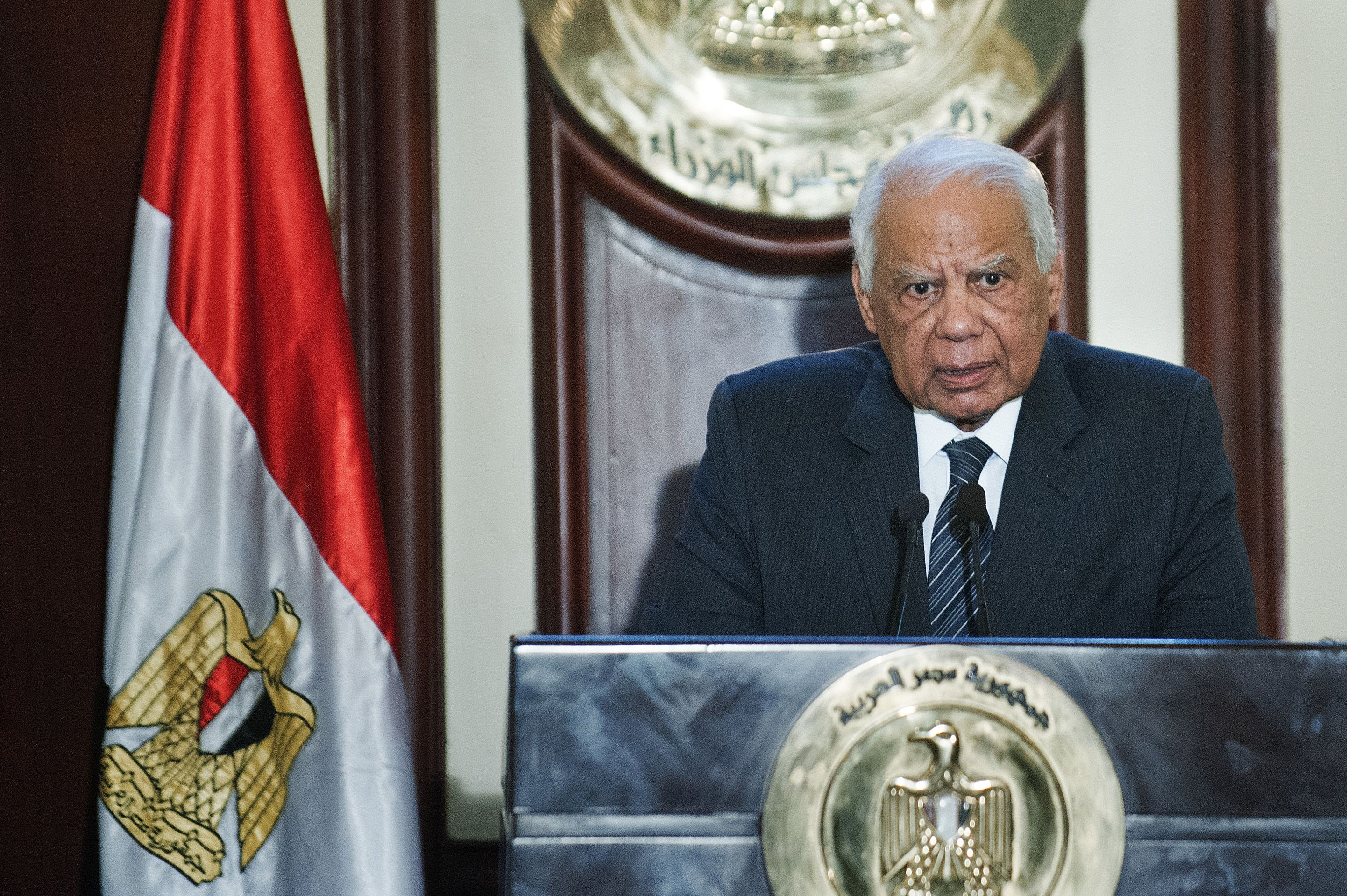Egypt's interim prime minister Hazem Beblawi  (AFP File Photo)