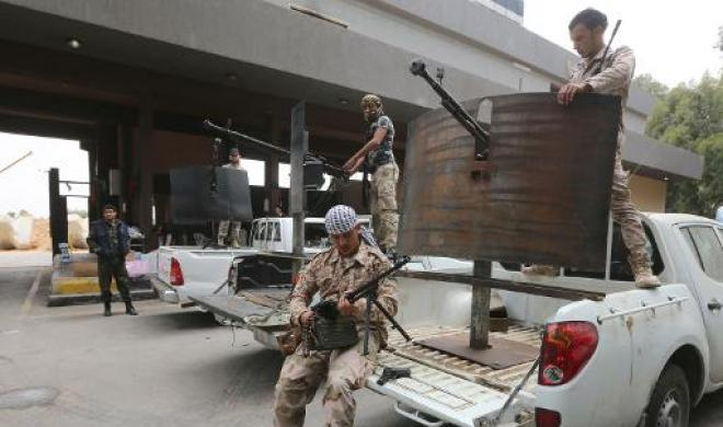 The Libyan capital, Tripoli, is currently under the control of Islamists, whose military wing is Libya Dawn (AFP Photo)