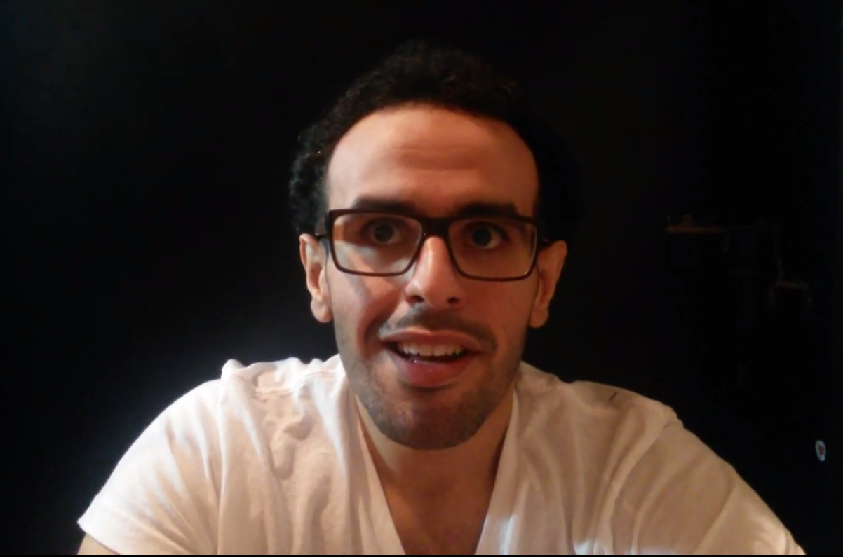 Mohamed Soltan, the Egyptian-American son of Muslim Brotherhood leader Salah Soltan (Screenshot from YouTube)