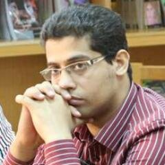 Emad Raouf, member of the political bureau of the Free Egyptians Party (Photo from Emad Raouf's Twitter account)