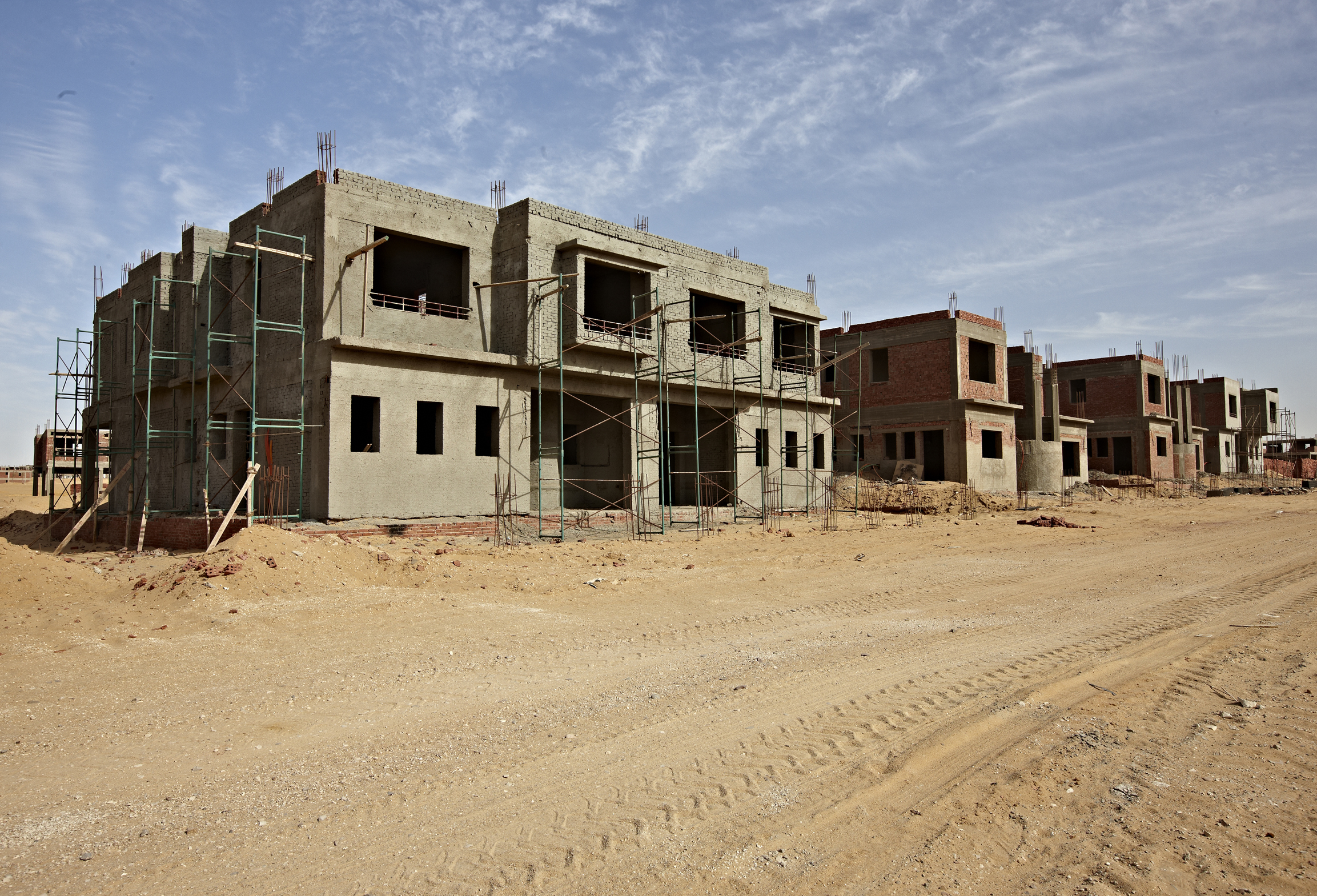 Construction halted: Gleeds Construction Consultancy Egypt says devaluation of the local currency is likely to take its toll on the sector