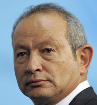 Egyptian billionaire Naguib Sawiris  (AFP Photo)