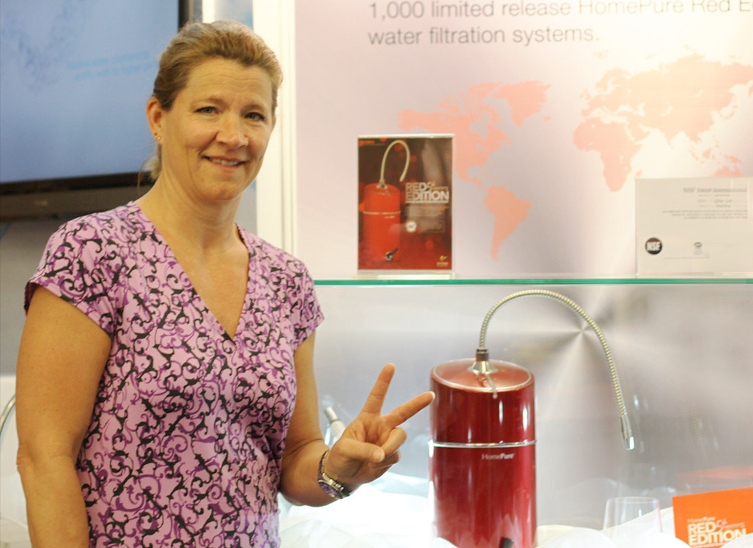 Tina Yerkes, General Manager of Drinking Water Filtration Products at the National Science Foundation (NSF) (Photo Handout to DNE)